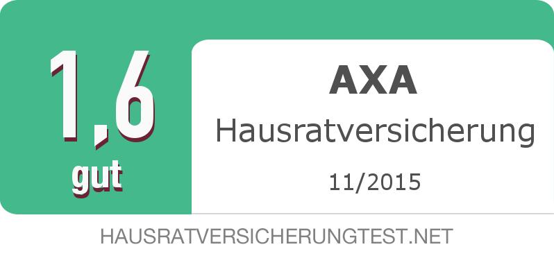 Testsiegel: AXA Hausratversicherung width=