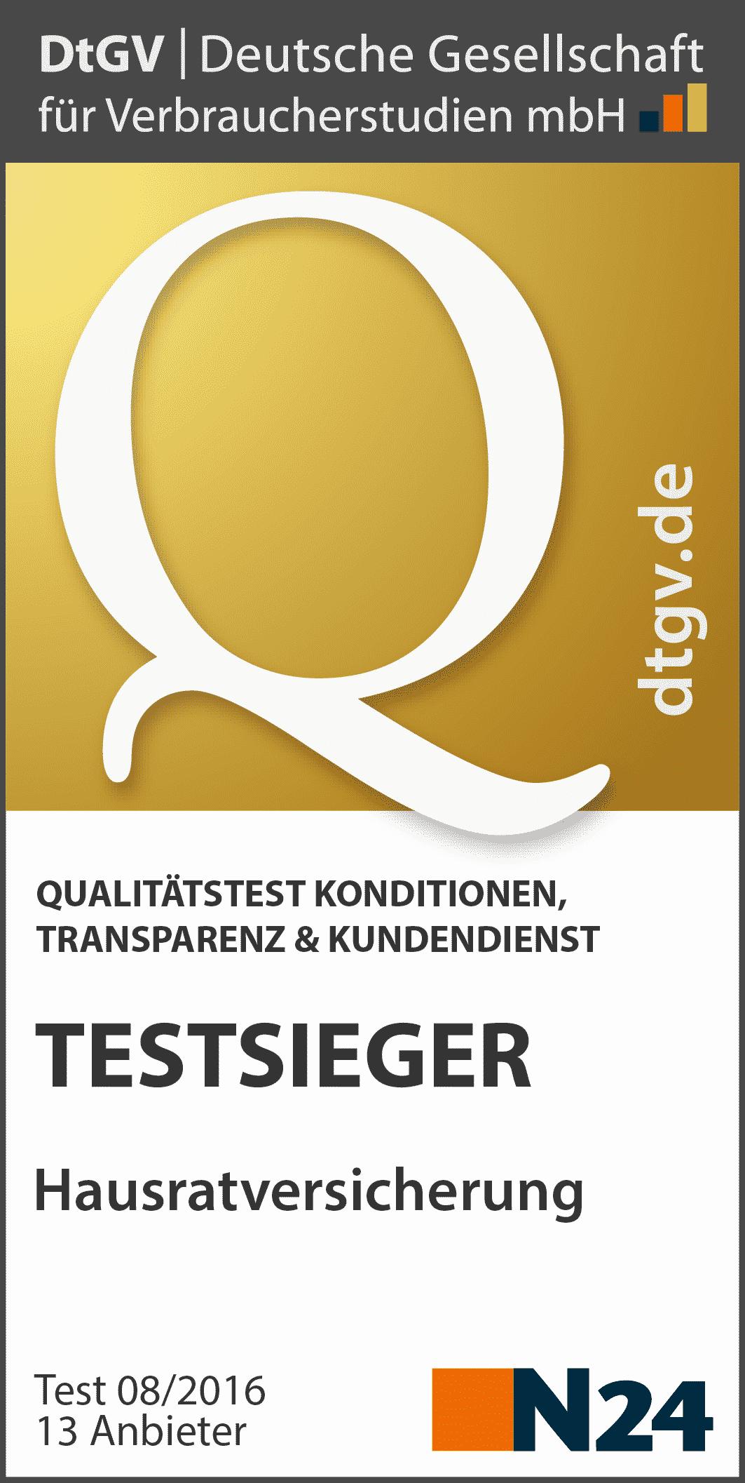 Huk Hausratversicherung Test Der Grosse Testbericht 2019